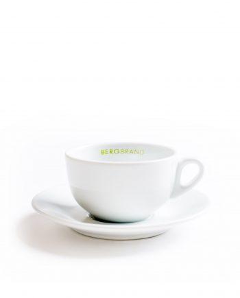 Cappuccinotasse Unterteller Porzellan