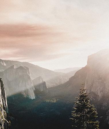 Sonnenaufgang Berge