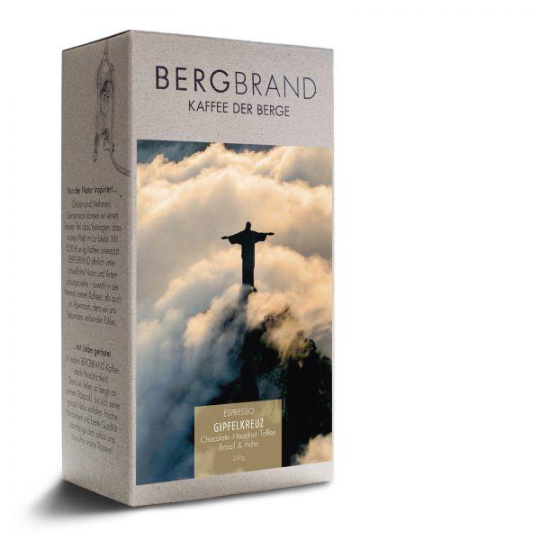 Bergbrand Kaffee Gipfelkreuz