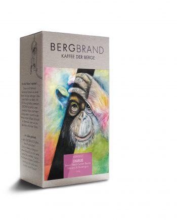 Etikett Bergbrand Espresso Charlie