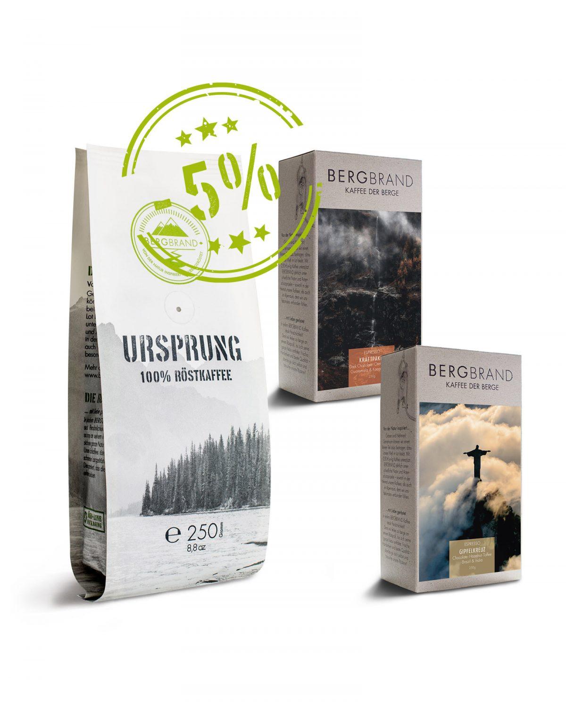 Entdeckerpaket Espresso 5%