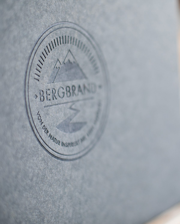 BERGBRAND Logo Geschenkbox