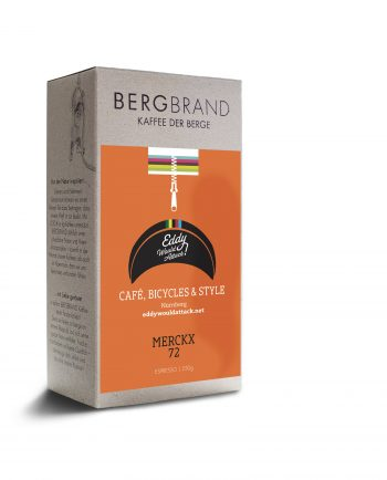 Etikett Bergbrand Espresso Eddy would attack